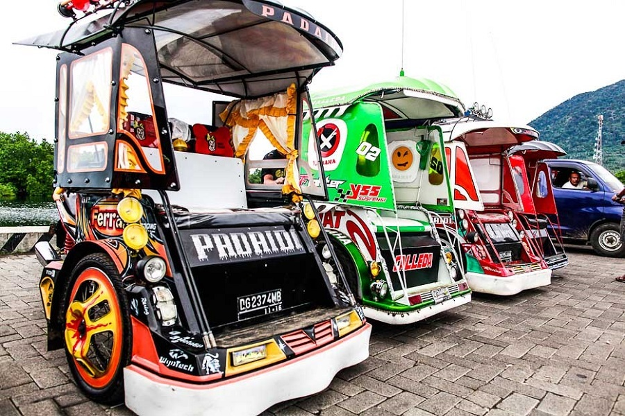 Yang Seru di Jailolo, Becak Motor Full Music