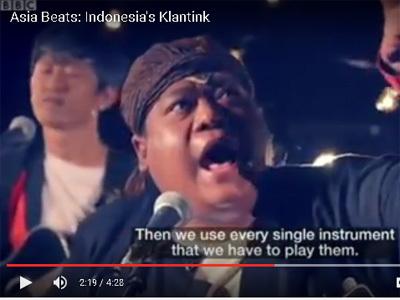 Klantink, Grup Musik Jalanan yang Turut Bawa Nama Budi ke Mancanegara