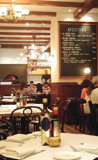 Santap Kuliner Italia di Resto Dalam Department Store, Grand Indonesia