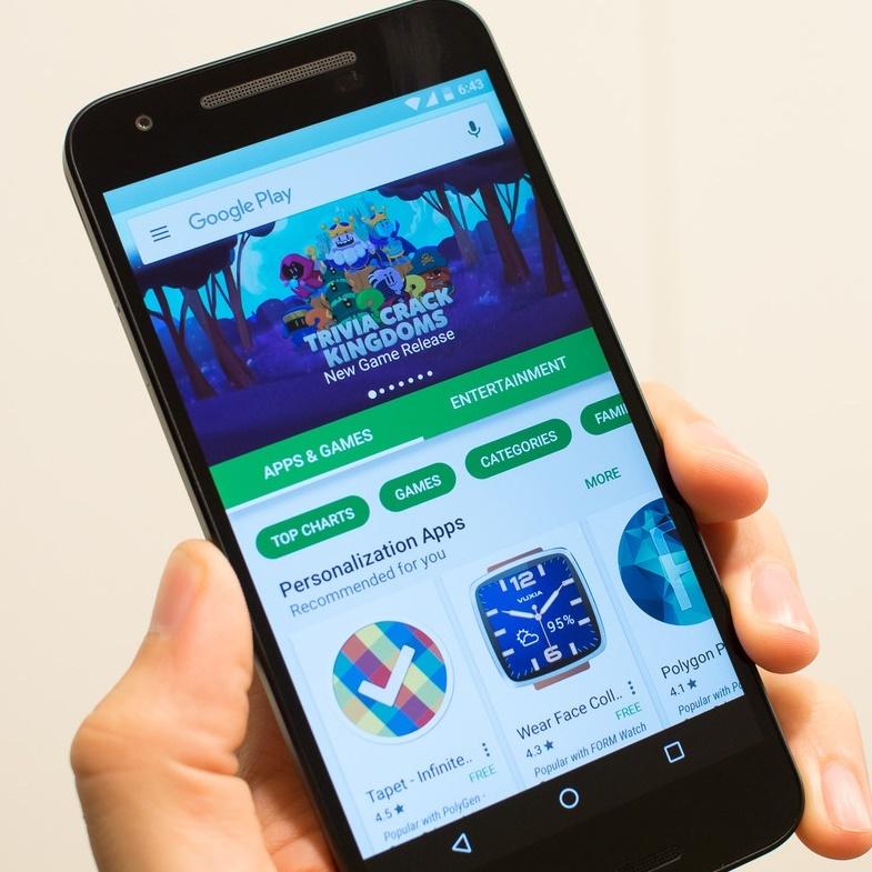 Google Play Store Tampil Lebih Simpel