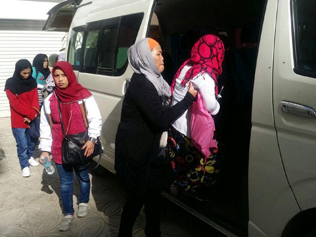 KBRI Cairo Pulangkan 13 TKI Ilegal