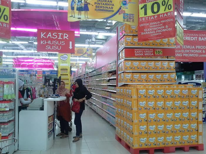 Ada Diskon Aneka Kebutuhan Anak di Transmart Carrefour