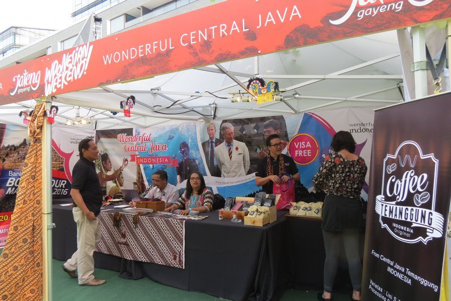 Indonesian Weekend London Sukses Buka Mata Wisman Soal Jawa Tengah