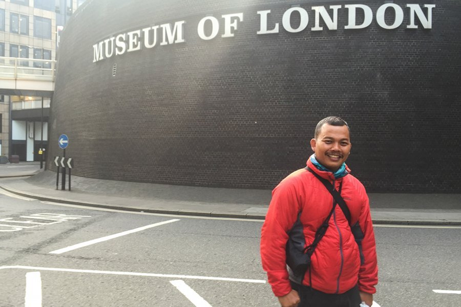 Kisah dTraveler Agus, Bertualang ke London Demi Indonesian Weekend