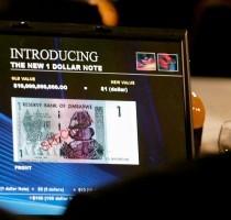 Mata Uang Zimbabwe Dipangkas, 10 Miliar Dolar Jadi 1 Dolar