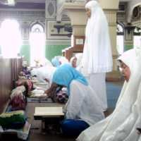 Itikaf di Masjid Agung Al Azhar
