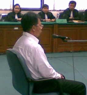 Chandra Antonio Tan Pasrah Divonis 3 Tahun Penjara
