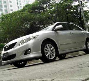 Sedan New Corolla Altis