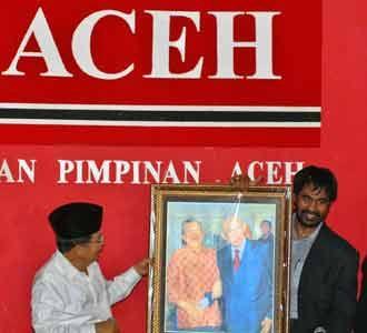 JK Bertemu Partai Aceh