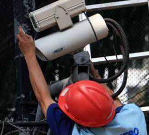 Perawatan CCTV di Kedubes Inggris