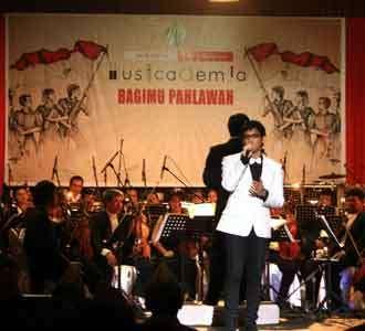 Gejolak Juang di Musicademia 2009