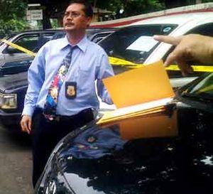 Polisi Gelar Mobil Hasil Penggelapan