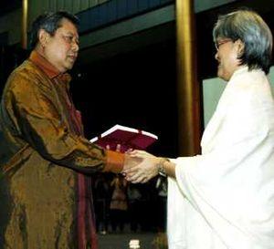 SBY Hadiri Ultah Komnas Perempuan