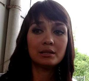 Luna Maya Terganggu Demo Antikorupsi