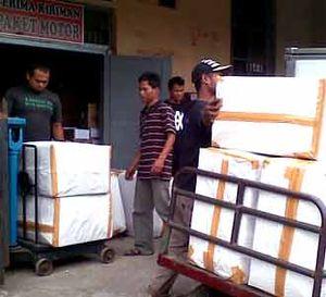 Pengiriman Paket di Bandung Sepi