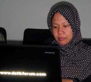 Prita Live Chatting di Detik Forum