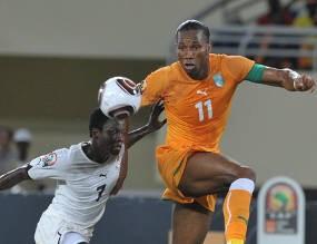 Pantai Gading Pertama Lolos