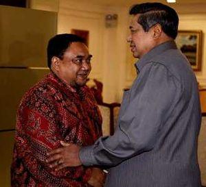 SBY Menerima Pengurus PWI