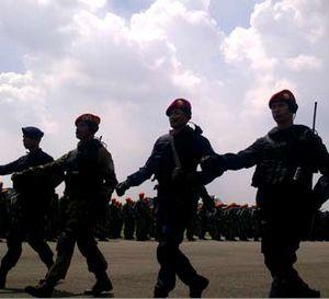 Penutupan Latgab TNI-Polri