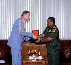 Panglima TNI Terima Pangab Cekoslavia