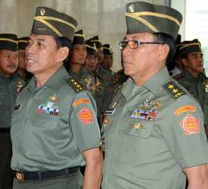 Sertijab Irjen TNI