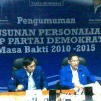 Susunan Lengkap Pengurus DPP Partai Demokrat 2010-2015