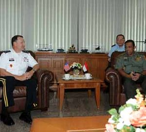 Panglima TNI Terima Komanda USARPAC