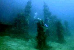 Candi Bawah Laut di Pemuteran Ditenggelamkan Tahun 2005