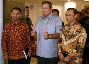 SBY Terima 2 Calon Pimpinan KPK