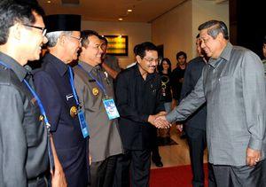 SBY Buka Rakor Gubernur se-Indonesia