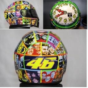 Koleksi Helm Valentino Rossi