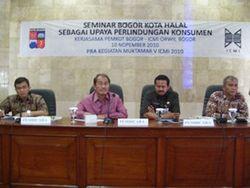 ICMI Gelar Seminar Bogor Kota Halal