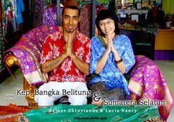 Kain Cual, Eksotika Batik dari Pulau Timah