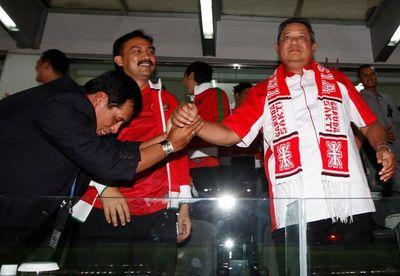 SBY Saksi Kemenangan Garuda