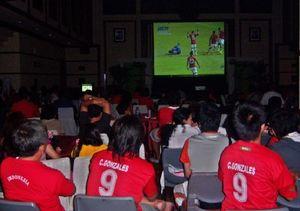 Nobar Final Piala AFF di Hotel Preanger