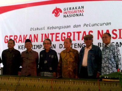 11 Tokoh Luncurkan Gerakan Integritas Nasional