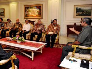 SBY Terima Pengurus PWI