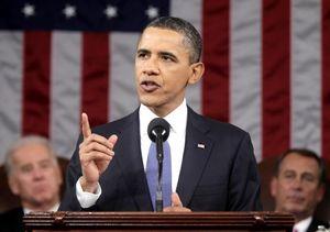 Obama Sampaikan Pidato Kenegaraan