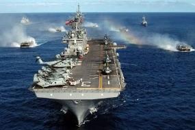 AS Kerahkan Kapal Perang dan Tentara ke Mesir