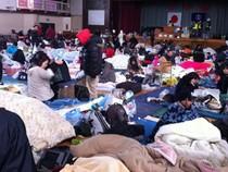 89 WNI Mengungsi di SMP Sanjo