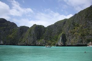 Maya Bay, Phi Phi Island, Phuket, Thailand
