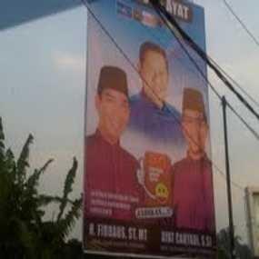 Baliho SBY Ramaikan Pemilu Kada Walikota Pekanbaru