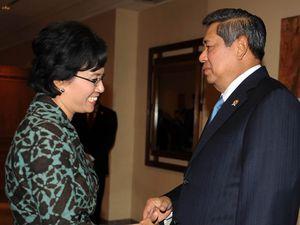 SBY-Sri Mulyani Reuni