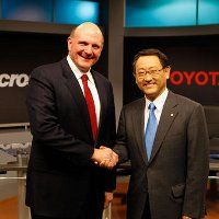 Toyota-Microsoft Bikin Kendaraan Pintar