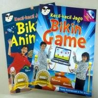 Pembuat Game Cilik Sharing Ilmu Lewat Buku