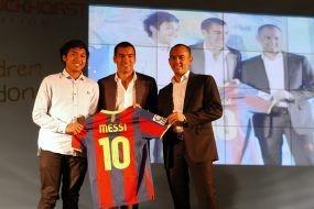 Dilelang Gio, Jersey Messi Laku Rp 70 Juta