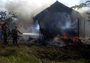 Home Industry Cetakan Fiber Terbakar