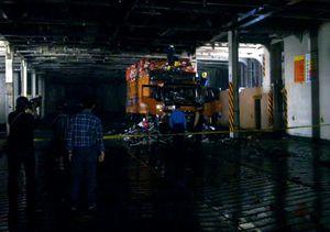 Olah TKP Kebakaran KM Kirana IX