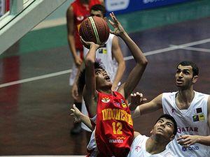 Tim Basket Indonesia U16 Kalahkan Qatar