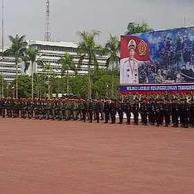 Latihan Bersama Antiteror TNI-Polri Resmi Ditutup